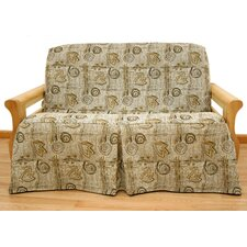 Melody 5 Piece Full Skirted Futon Cover Set