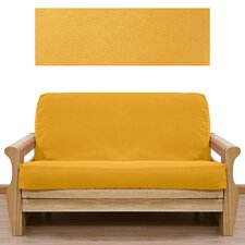 Ultra Suede Gold Yellow 5 Piece Full Futon Cover Set