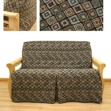 <strong>Easy Fit</strong> Navajo 5 Piece Full Skirted Futon Cover Set