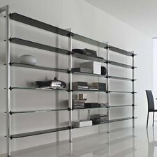Stilos Slim Bookcase
