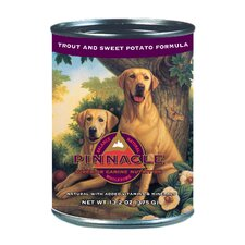 Canine Holistic Trout and Sweet Potato Recipe Canned Wet Dog Food (13.2-oz, case of 12)