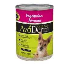 Natural Vegetarian Adult Formula Wet Dog Food (13-oz, case of 12)