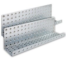 Steel Pegboard Shelves