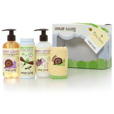 <strong>Citiblocs</strong> Little Twig Baby Basics Baby Powder, Baby Wash and Lotion Gift Set
