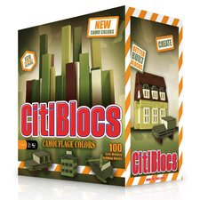<strong>Citiblocs</strong> Building Block Set in Camo Colors