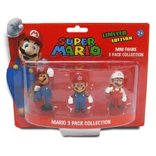 Super Mario Mini Mario Figures (Set of 3)