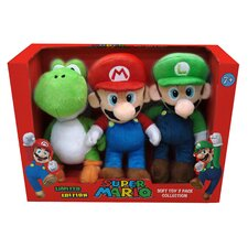 Super Mario Small Plush (Set of 3)