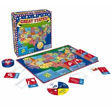 Great States Junior Board Game