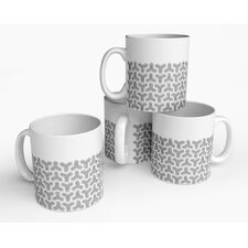 Hex Tri Mug (Set of 4)