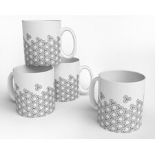 Hex Drift Mug (Set of 4)
