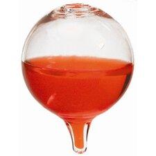 """43cm Glasthermometer """"Galileo"""" in Rot"""