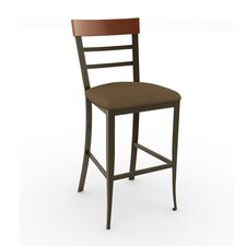 "<strong>Amisco</strong> Eco Style 30"" Zelia Swivel Bar Stool"