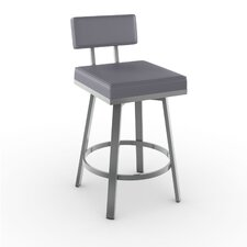 "New York Style 26"" Staten Swivel Bar Stool"