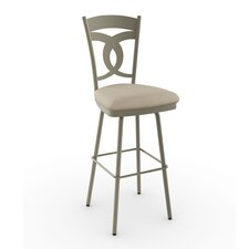 "<strong>Amisco</strong> Countryside Style 26"" Valley Swivel Bar Stool"
