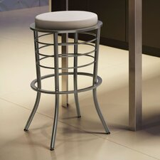 "<strong>Amisco</strong> New York Style 30"" Broadway Bar Stool"