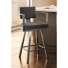 "<strong>Amisco</strong> Urban Style 30"" Akers Swivel Bar Stool"