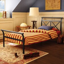 Harry Twin Metal Headboard/Footboard