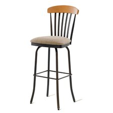 "Tammy 30"" Swivel  Barstool with Memory Return"