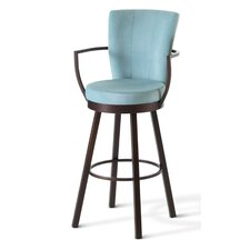 "<strong>Amisco</strong> Cardin 26"" Swivel Counter Stool"