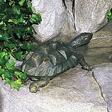 <strong>Brass Baron</strong> Sea Life Turtle Fountain
