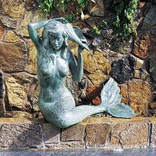 <strong>Brass Baron</strong> Sea Life Mermaid Fountain
