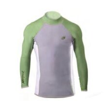 1.5mm XSPAN Men's Long Sleeve Top Wetsuit in Green