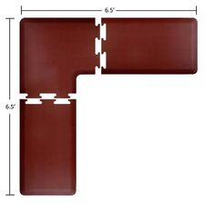 PuzzlePiece L-Series, Corner Anti-Fatigue Mat Set