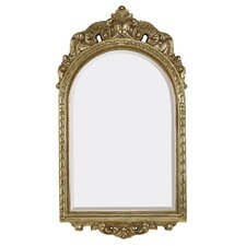 <strong>Majestic Mirror</strong> Traditional Bevel Wall Mirror