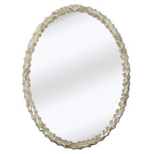 <strong>Majestic Mirror</strong> Contemporary Oval Wall Mirror