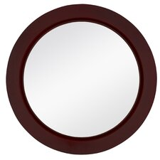 <strong>Majestic Mirror</strong> Contemporary Round Wall Mirror