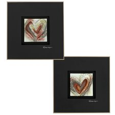 Three Dimensional 2 Piece Framed Painting Print