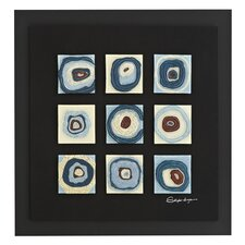 Three Dimensional Framed Painting Print
