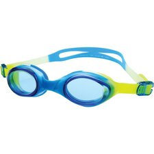 Swim Goggle in Yellow and Light Blue