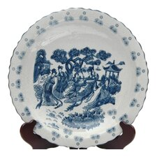 <strong>Oriental Furniture</strong> Ladies Porcelain Plate