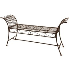 Rustic Decorative Garden Bench