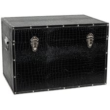 Faux Leather Crocodile Trunk