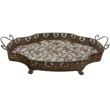 Wrought Iron Clover Plate