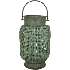 Perforated Wrought Iron Lantern