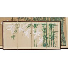 "18"" x 36"" Bamboo Escape 4 Panel Room Divider"