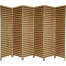 "<strong>Oriental Furniture</strong> 70.75"" 6 Panel Room Divider"