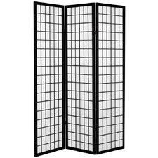 "71"" Window Pane Room Divider"