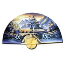 <strong>Oriental Furniture</strong> Glorious Dream Oriental Fan Wall Décor