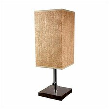 "Nantou 22"" H Table Lamp with Square Shade"