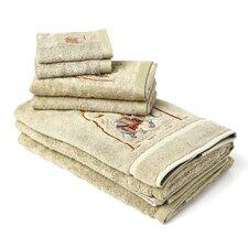 Majestic Elephant 7 Piece Towel Set