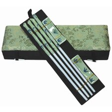 Porcelain 4 Piece Chopsticks Set
