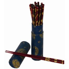 Wood 20 Piece Chopsticks Set