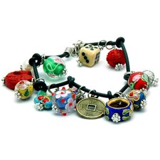 <strong>Oriental Furniture</strong> Lucky Charm Bracelet