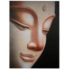 Buddha Graphic Art on Canvas