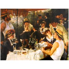 'Luncheon' by Renoir Painting Print on Canvas