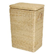 Rush Grass Laundry Basket